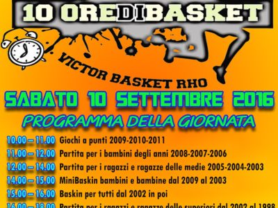 10 Ore di Basket